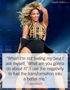 Quotes and inspiration from Celebrity QUOTATION – Image : As the quote says – Description Best Beyonce Quotes – Inspiring Celebrity Quotes – Marie Claire Sharing is everything – We, at Quotes Daily, we think that sharing is everything, so don't forget. Now Quotes, Quotes To Live By, Life Quotes, Sassy Quotes, Attitude Quotes, Music Quotes, Positive Quotes, Motivational Quotes, Inspirational Quotes