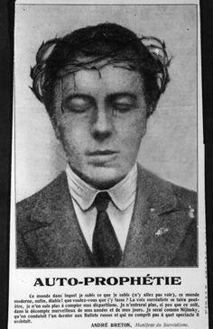 André Breton – founder of the Surrealist Internationale ünd poet-writer extraordinaire