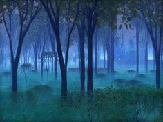 Through the mist ...