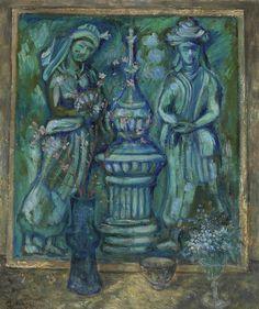 Mikhail Larionov (1881-1964), Still life, 1900