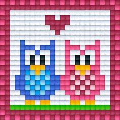 Uiltjes roze | Pixel Party