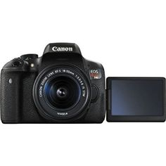 Canon EOS Rebel T6i 24.2MP Digital SLR Camera USA warranty with Canon EF-S 18-55mm f/3.5-5.6 IS STM [Image Stabilizer] Zoom Lens & EF 75-300mm f/4-5.6 III Telephoto Zoom Lens + 58mm 2x Professional Lens +High Definition 58mm Wide Angle Lens + Auto Power F - Get more info here at www.alldigitalcamerasupplies.com