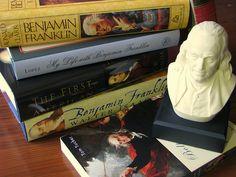 Benjamin Franklin books by scampion, via Flickr