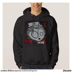 zombie Killerz nurz Hooded Pullover