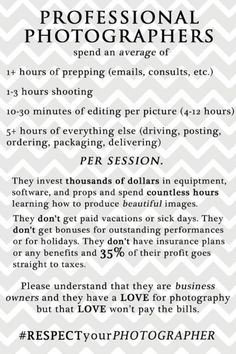This also applies to a lot of independent creative professionals such as illustrators, designers, developers and videographers.