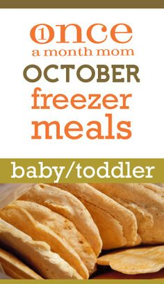 Love this website - menus and recipes to prep an entire month's worth of meals at a time.