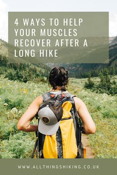 We've all been there. We've spent the day enjoying a great hike, but we wake up the next morning and our muscles are sore. Check out this blog post, where we're taking you through our top 4 steps to help aid muscle recovery. www.allthingshiking.co.uk #allthingshiking #hikingtips Backpacking Tips, Hiking Tips, Hiking Gear, Hiking Training, Ultralight Backpacking, Travel Advice, Travel Quotes, Travel Tips, Travel Goals