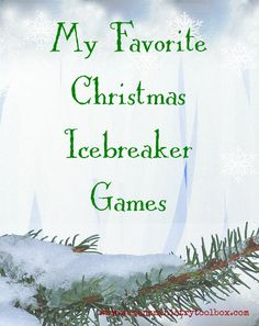 Check out My Favorite Christmas Icebreaker Games over at Women's Ministry Toolbox. You'll find one that is perfect for your Christmas party or Christmas fellowship. Almost every game includesa free printable PDF and very few supplies.  …