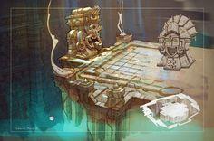 Temple inside by Sidxartxa.deviantart.com on @deviantART