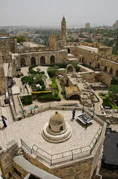 Jerusalem, Israel- been there, walked the city wall. it's awesome