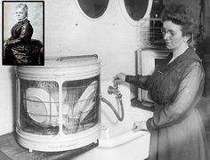 ¿Sabías que... el primer lavavajillas se inventó en 1888? Fue creado por Josephine Cochrane una adinerada mujer que decidió dar solución a este problema a pesar de que ella no fregaba :-) #retro #cocina