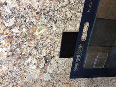 Granite/tile/cabinet combo