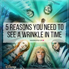 Lifestyle Media Correspondent MimiCuteLips shares 5 Reasons You Need To See A Wrinkle In Time. No spoilers included a great job by director Eva Duvernay. This is a great movie to see and you don't need kids to do so.