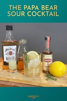 Dad will LOVE this sour #cocktail on #FathersDay
