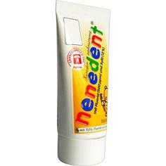 NENEDENT Kinderzahncreme m.Fluorid Standtube:   Packungsinhalt: 50 ml Zahncreme PZN: 08771783 Hersteller: Dentinox Lenk & Schuppan KG…