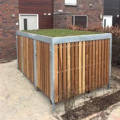 The FalcoCrea was developed from a growing demand for secure cycle storage for private homes and community neighbourhoods. Perforated Plate, Bike Shelter, Sedum Roof, Cycle Store, Bike Shed, Ral Colours, House Extensions, Outdoor Furniture, Outdoor Decor