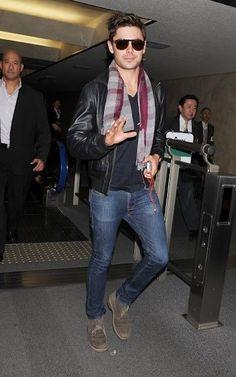 Tom's Style / nice airport cas (zac efron)