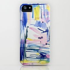 In the Blue iPhone Case by Jenny Vorwaller - $35.00