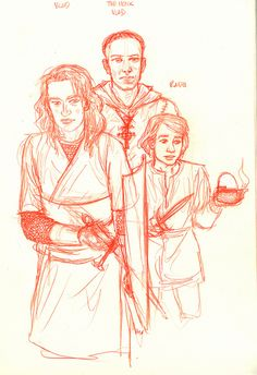 """Vlad, Vlad """"the Monk"""", and Radu as boys, from the days at the Scholomance. - Vlad the Impaler 1431–1476 trying to draw 12,13yrs old - Vlad_""""the Munk"""" 1425 - 1495 trying to draw 18yrs old - Radu_the Handsome 1435–1475 trying to draw 8yrs old"""