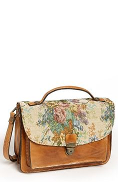 Patricia Nash 'Digione' Leather Satchel available at #Nordstrom