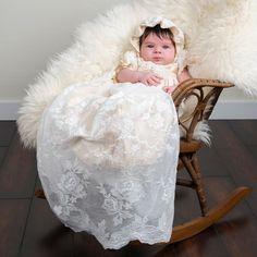 Louisa Christening Bonnet - Girls Bonnet