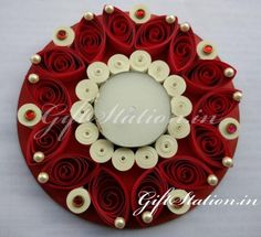 Quilled candles #india #quilling  #diwali