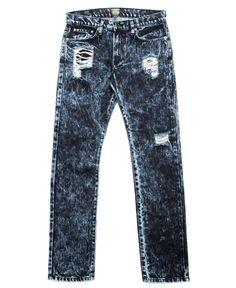 Kennedy Denim Co. - Distressed Mineral Washed Denim (Blue Fizz)