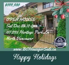 Open House, Happy Holidays, Happy Holi