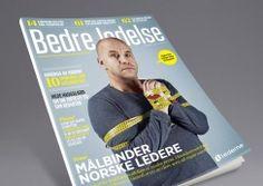 Bedre Ledelse - magazine for the organization Lederne. Pinned from www.redink.no.