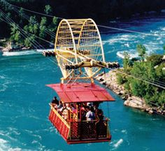 Whirlpool Aero Car, Niagra Falls, Canada. I have been here :) I just saw this in October :)