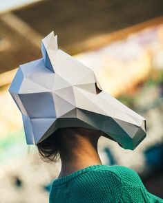 Hey, I found this really awesome Etsy listing at https://www.etsy.com/listing/482424685/paper-horse-mask-papercraft-template