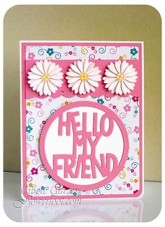 Flower Foot Designs: The Stamps of Life - Daisy Friend