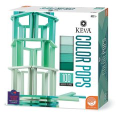 KEVA+Color+Pops:+Teal+-+Mindware.com