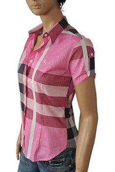 22 Gambar Burberry Shirt Women terbaik  241defa441