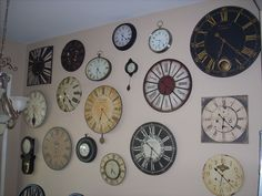 Clock Wall Decor 1000 ideas about wall clock decor on pinterest | wood homes, wall