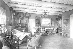 Ainola - Ainola kotina - Ainolan sali vuonna 1915