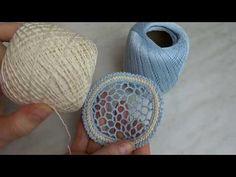 Образцы нерегулярной сеточки - YouTube Love Crochet, Irish Crochet, Crochet Lace, Wire Crafts, Diy And Crafts, Lace Art, Point Lace, Freeform Crochet, Lace Making