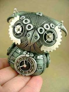 Safari Steampunk Anyone? Steampunk is a rapidly growing subculture of science fiction and fashion. Arte Steampunk, Style Steampunk, Steampunk Design, Steampunk Fashion, Steampunk Clock, Steampunk Crafts, Steampunk Gadgets, Fashion Goth, Polymer Clay Steampunk