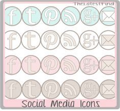 Social media buttons and great digital papers
