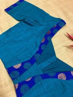 Sophisticated saree blouse styles Click the link to see more about Brocade Blouse Designs, Cotton Saree Blouse Designs, Patch Work Blouse Designs, Simple Blouse Designs, Stylish Blouse Design, Designer Blouse Patterns, Design Patterns, Cotton Silk, Blouses