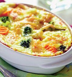 Suflé de legume   Retete culinare - Romanesti si din Bucataria internationala