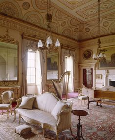 The Saloon at Nostell Priory