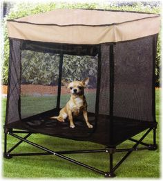 Pet Store Shady Portable Pet Kennel with Carry Case - Small *** Check out the image by visiting the link. (This is an affiliate link and I receive a commission for the sales) #DogLovers