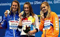 Dos medallas de oro más para Mireia Belmonte
