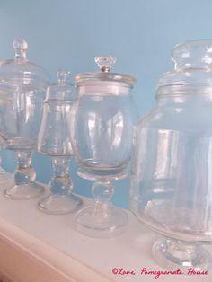 DIY Apothecary Jars - Love, Pomegranate House
