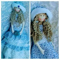 boneca tilda de pano camponesa