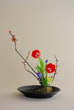 japanese flower arrangment | Japanese Flower Arranging (Ikebana): Spring Season Begins « Orcas ...