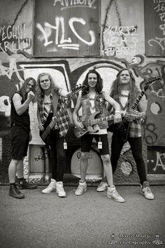 finnish thrash metal band Lost Society!  #ossipaanen #mirkolehtinen #samyelbanna #arttulesonen