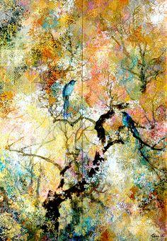 Embrace Art Studio and Gallery Australia Lovebirds