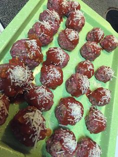 My boys LOVE meatballs and they LOVE my 21 Day Fix Chicken Parmesan so I had no doubt this would be a huge hit in our house! I served over penne pasta for my boys and I ate them as a wrap.Next time I will serve them over spaghetti squash! I also tripled the recipe to make Read More ...